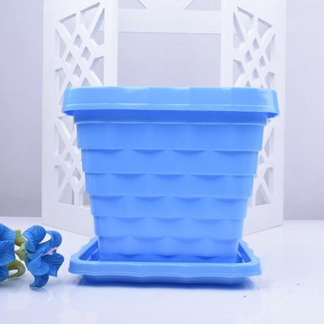 گلدان پلاستیکی چهارگوش