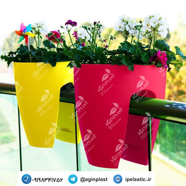 فروش اینترنتی گلدان نرده ای
